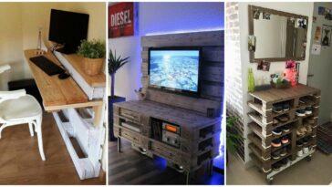 Idei de mobilier din paleti de lemn 12 modele minunate