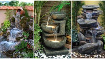 Idei spectaculoase de cascade artificiale pentru gradina
