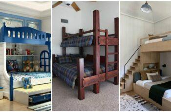 Idei de paturi supraetajate pentru copii