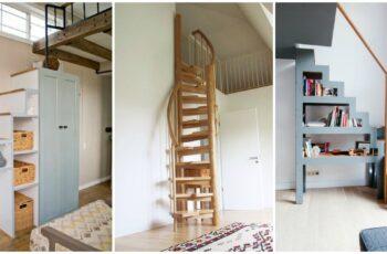 40 Modele de scari interioare pentru spatii mici