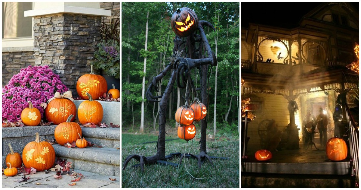 60 Idei geniale de decoratiuni de Halloween