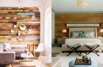 Idei minunate de pereti placati cu lemn